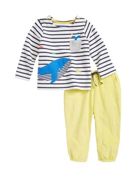 Fun Pocket Top & Pants Set by Mini Boden