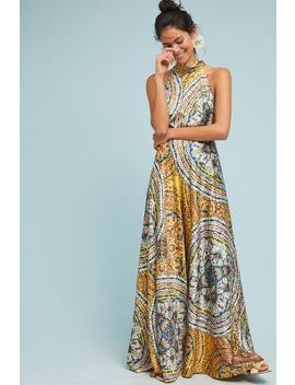 Paisley Maxi Dress by Nicole Miller New York