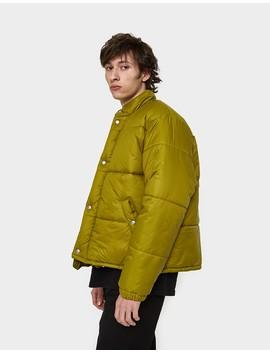 Bubble Jacket Slush Green Nylon by Need Supply Co.