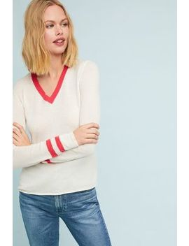 Maggie V Neck Pullover by Velvet By Graham & Spencer