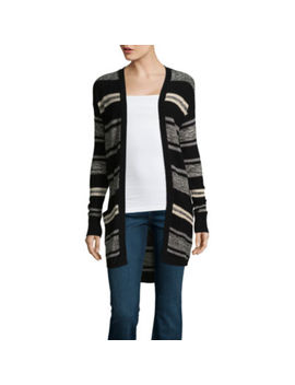 St. John's Bay Long Sleeve Flyaway Cardigan by St. John`s Bay