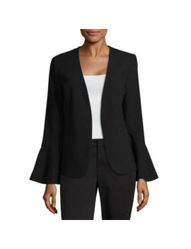 Worthington Flounce Blazer by Worthington