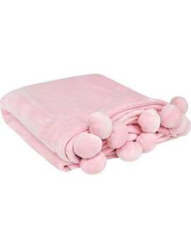 Mainstays Pompom Throw by Mainstays Kids