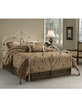 Hillsdale Furniture 1310 Bfr Victoria Bed Set With Rails, Full, Antique White by Hillsdale Furniture