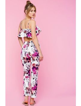 Two Piece Getaway Pant Set by A'gaci