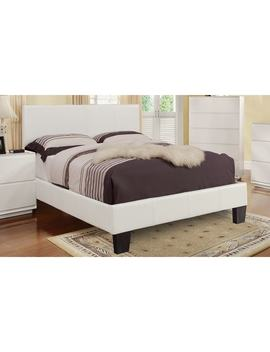Astro Faux Leather Platform Bed by Generic