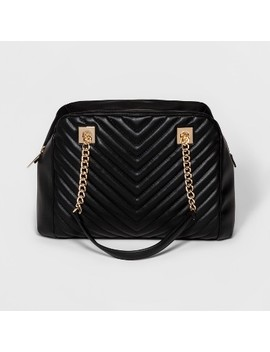 Women's Quilted Satchel   A New Day™ by A New Day™