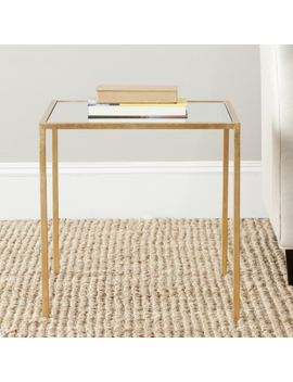 Safavieh Treasures Kiley Gold/ Mirror Top Accent Table by Safavieh