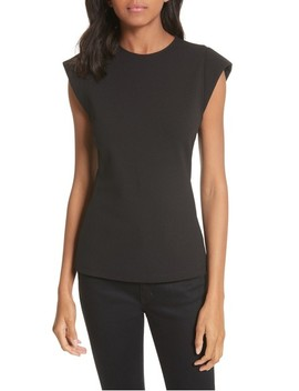 Extended Shoulder Top by Tibi