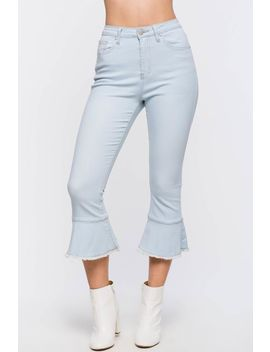 Belle Crop Denim Pant by A'gaci