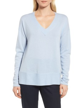 V Neck Cashmere Sweater by Nordstrom Signature