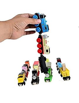 Thomas Train Magnetic Wooden Train Car Set Works With Thomas And Friends Wooden Train Sets (Pack Of 2) by Generic