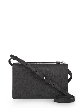 Fetch Leather Crossbody Wallet by Allsaints