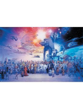 "Trends International Star Wars Galaxy Wall Poster 22.375"" X 34"" by Trends International"