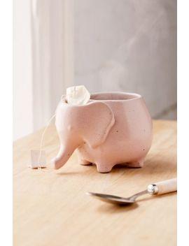 Plum & Bow Elephant Tea Mug by Plum &Amp; Bow