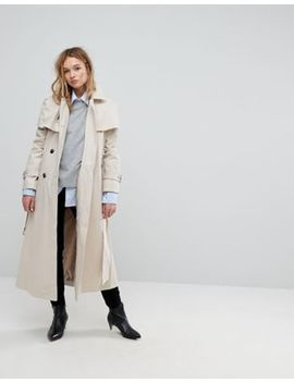Asos Off Shoulder Trench by Asos Collection