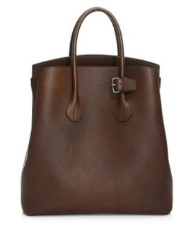 Sommet Leather Tote by Bally
