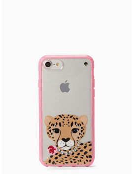 Jeweled Cheetah Iphone 7/8 Case by Kate Spade