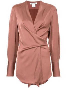Wrap Blouse by Bianca Spender