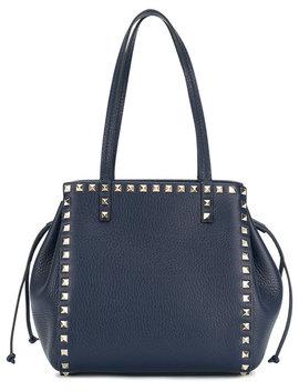 Valentino Garavani Rockstud Double Handle Bag by Valentino