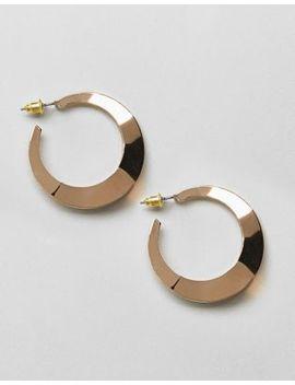 Asos Design Split Hoop Earrings by Asos Collection