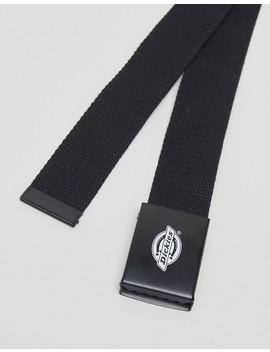 Dickies Orcutt Webbing Belt In Black by Dickies