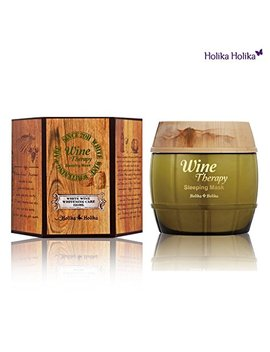 Holika Holika Wine Therapy Sleeping Mask, White Wine, 4.1 Ounce by Holika Holika
