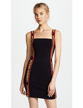 Mini Dress With Elastic Logo by Opening Ceremony
