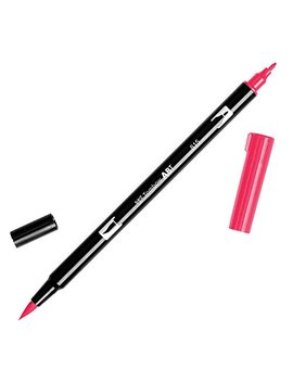 Tombow Dual Brush Pen Art Marker, 815   Cherry, 1 Pack by Tombow