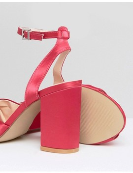 Coco Wren Block Heeled Sandals by Shoes