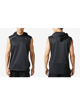 Men's Essentials Hooded Sleeveless Basketball Shirt by Adidas