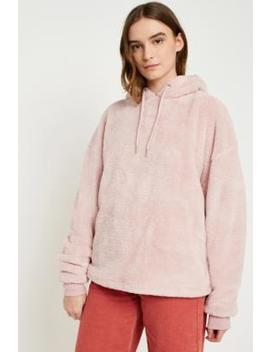 Urban Outfitters Teddy Hoodie by Urban Outfitters