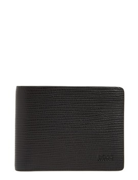 Timeless Leather Billfold Wallet by Boss