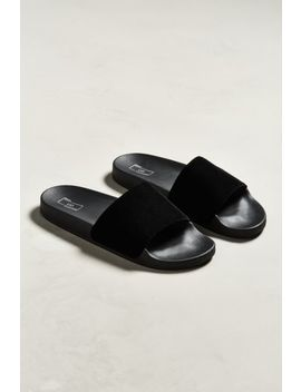 Uo Velvet Slide Sandal by Urban Outfitters