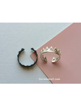 Sterling Silver Toe Ring  Princess Crown by Etsy