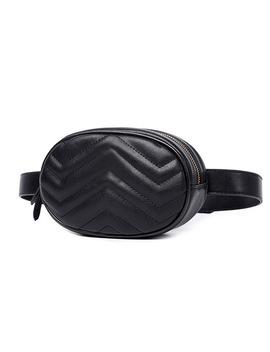 Waist Bag Women Waist Fanny Packs Belt Bag Luxury Brand Leather Chest Handbag Red Black Color 2018 New Fashion Hight Quality by Fein&Cici Handbag Store