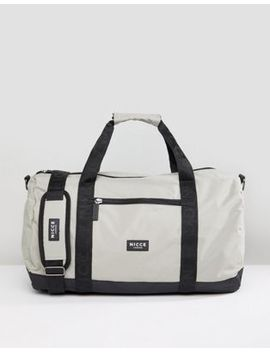 Nicce London Carryall In Gray by Nicce London