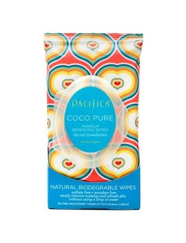 Pacifica Coco Pure Makeup Removing Wipes 30ct by Pacifica