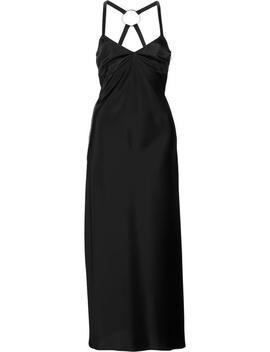 струящееся платье кроя миди by Off White