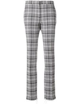 клетчатые брюки с манжетами на молнии by Off White