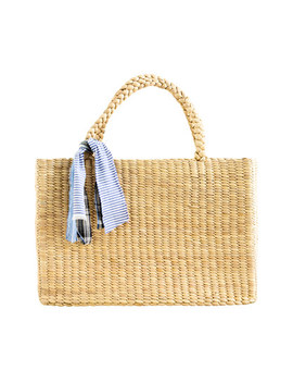Wanderlust Straw Tote by Madewell