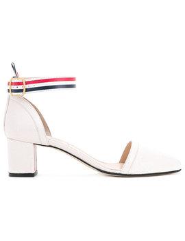 туфли с ремешком на щиколотке by Thom Browne