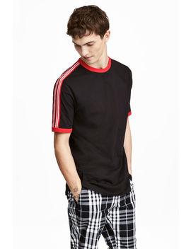 T Shirt Mit Kontraststreifen by H&M