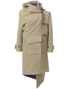 кашемировое пальто дафл 'pulled' by Balenciaga
