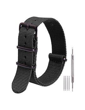 Ritche Nato Strap 16mm 18mm 20mm 22mm Replacement Nylon Watch Band by Ritche