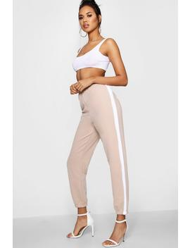 Verity Athleisure Stripe Jogger by Boohoo