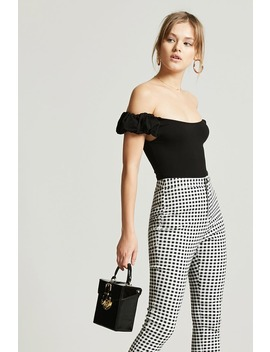 Puff Sleeve Bodysuit by F21 Contemporary