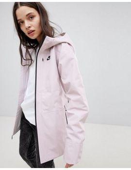 Nike Tech Knit Jacket In Pink by Nike