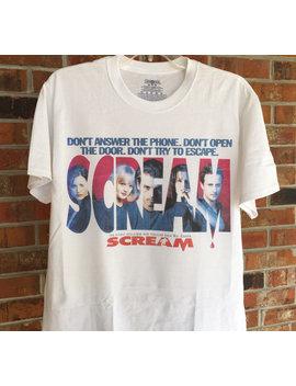 Scream Inspired T Shirt by Etsy