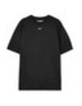 Printed Cotton Blend Jersey T Shirt by Off White